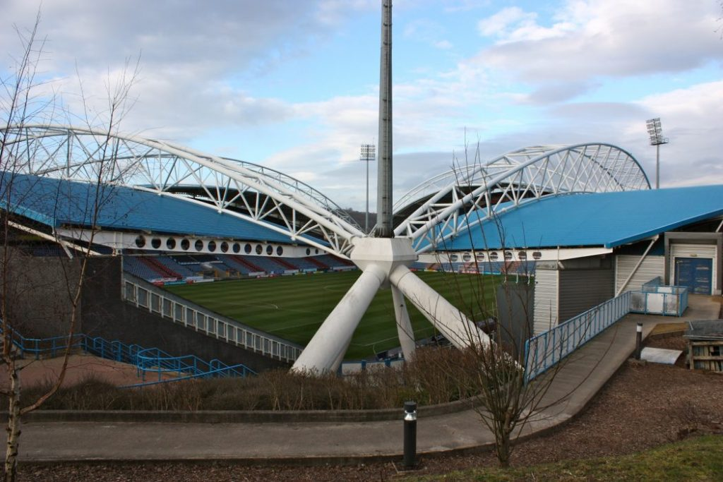 John Smith's Stadium is home to Huddersfield Town FC and Huddersfield Giants rugby club.