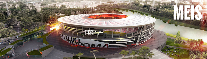 Roma football club stadium