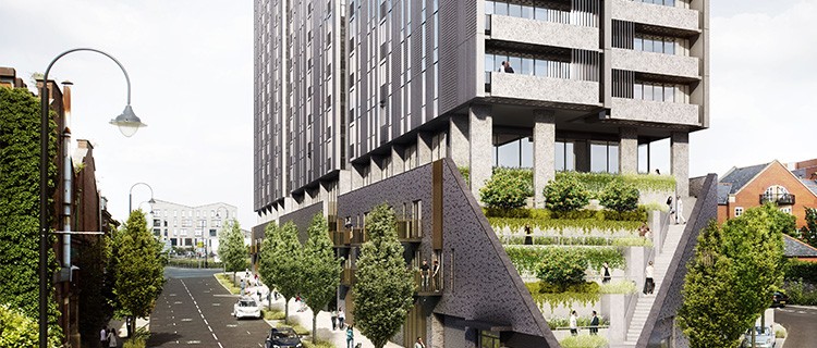 Oxygen Tower in Manchester will be a ground-breaking vertical village development.
