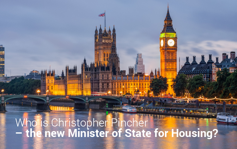 Who is Christopher Pincher – the new Minister of State for Housing?